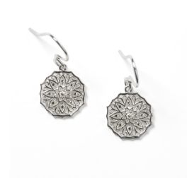 Southern Gates Morning Glory Earrings