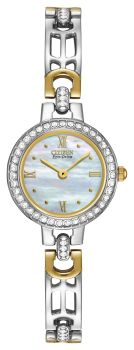 Ladies Silhouette Crystal Eco-Drive Citizen's Watch