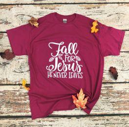 Fall For Jesus Tee