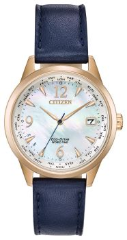 Ladies World Time Eco-Drive Citizens Watch