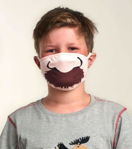 Toddler Face Mask - Mustache