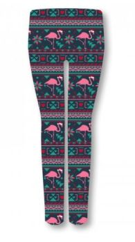 Simply Southern Leggings - Flamingo