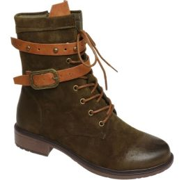 Living On The Edge Boots - Forest Green