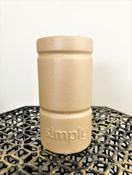 Simply Southern Slim Can Koozie - Gold
