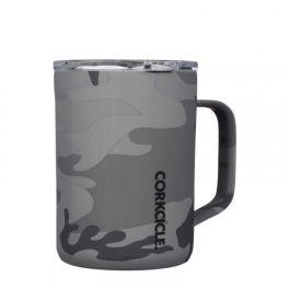 Corkcicle 16oz Coffee Mug - Grey Camo