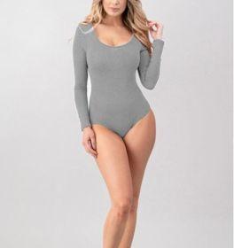 Secret Crush Bodysuit - Heather Grey