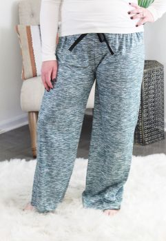 Simply Southern Lounge Pants - Heather Green
