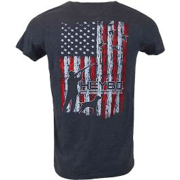 Heybo Merica Ducks Navy T-Shirt