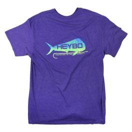 Heybo Gaffer Purple T-Shirt