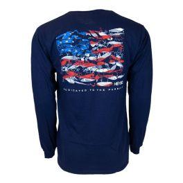 Heybo Lure Flag Long-Sleeve T-Shirt