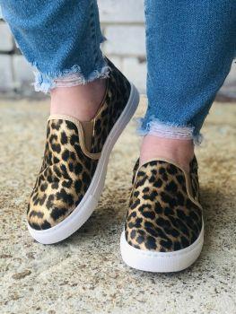Best Day Sneakers - Leopard