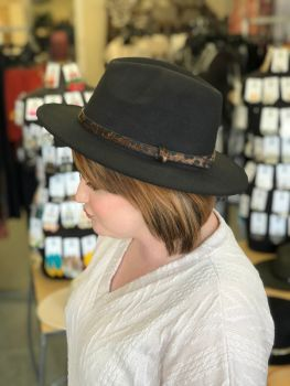 Back Again Hat - Black