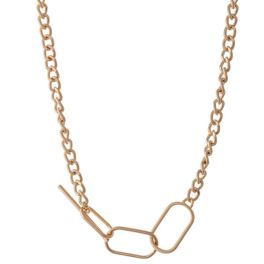 Before You Go Necklace - Gold