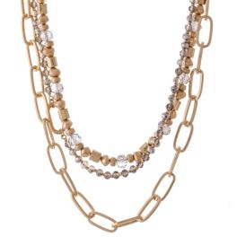 Beauty On The Inside Necklace - Gold