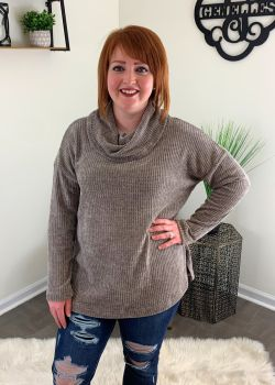 Cool And Casual Top - Mocha