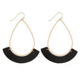 For You Earrings - Black