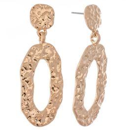 In The Loop Earrings - Gold