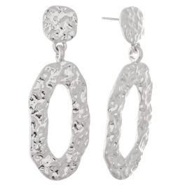 In The Loop Earrings - Silver