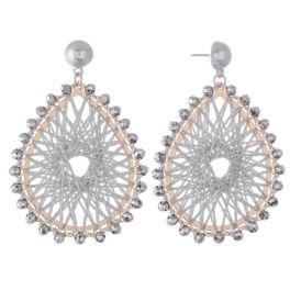 Dazzle Me Earrings - Silver