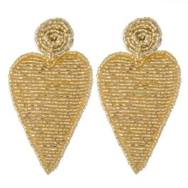 Your Hearts Desire Earrings - Gold