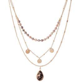 Class Act Necklace - Pink Quartz