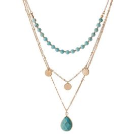 Class Act Necklace - Turquoise