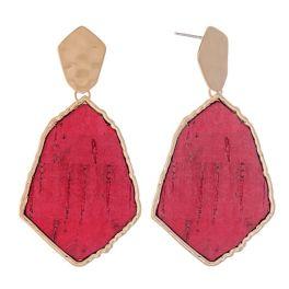 There For Me Earrings - Fuchsia