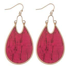 Be My Friend Earrings - Fuchsia