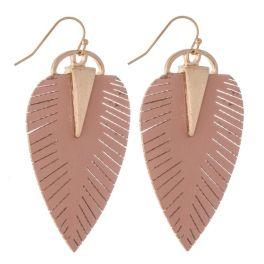 Cutie Pie Earrings - Dusty Pink