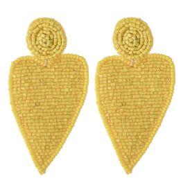 Your Heart's Desire Earrings - Yellow