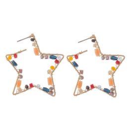 When The Stars Align Earrings - Gold Multi