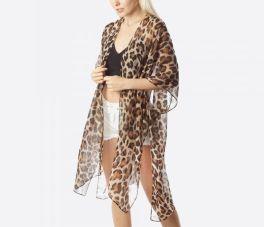 The Monica Kimono - Leopard