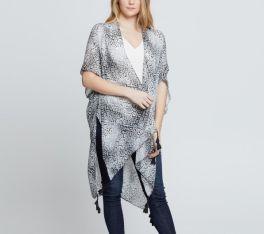 The Phoebe Kimono - Grey