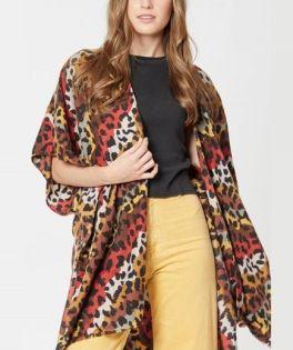 The Donna Kimono - Brown