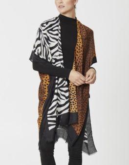 The Kimberly Kimono - Leopard