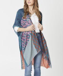 The Chelsea Kimono - Teal