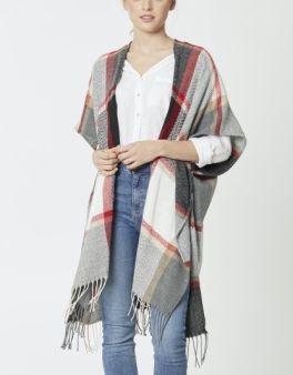 The Brittany Kimono - Grey