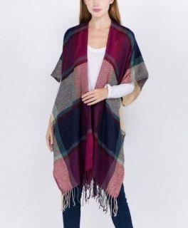 The Jennifer Kimono - Fuchsia