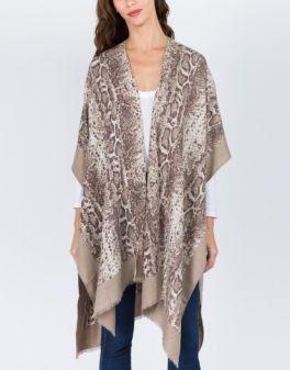 The Anna Kimono - Taupe