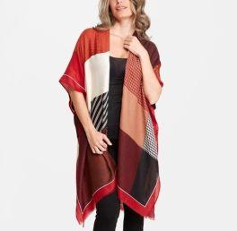 The Elizabeth Kimono - Red