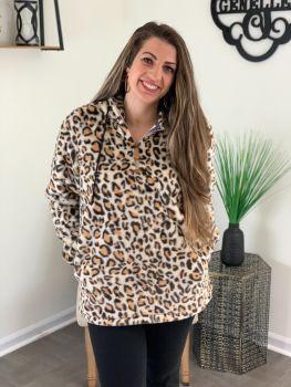 Secret Crush Pullover - Leopard