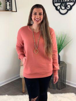 Southern Comfort Sweatshirt - Rose