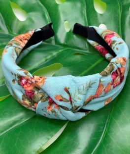 Floral Beauty Headband - Mint
