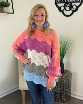 The Lucky One Sweater - Multi