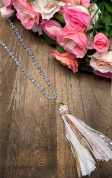 Making Memories Necklace - White Sparkle