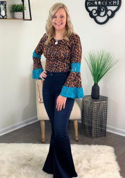 My Spotlight Bodysuit - Amber Leopard