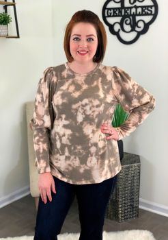 No Second Guessing Top - Pink Blush