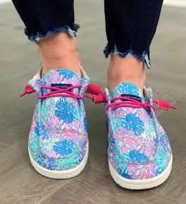 Simply Southern Slip-On Sneakers - Keys