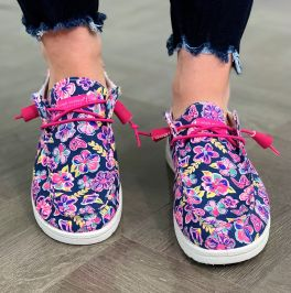 Simply Southern Slip-On Sneakers - Butterfly