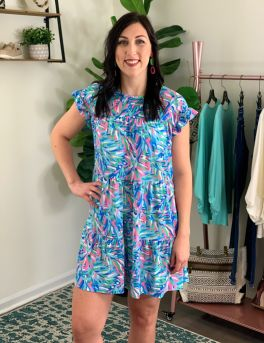Simply Southern Tunic Dress - Abstract